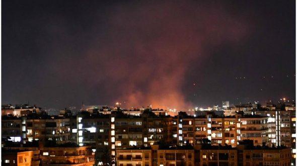 روایت حجتالاسلام غریبرضا از حمله موشکی آمریکا؛ اذان دمشق زیر موشکباران آمریکا